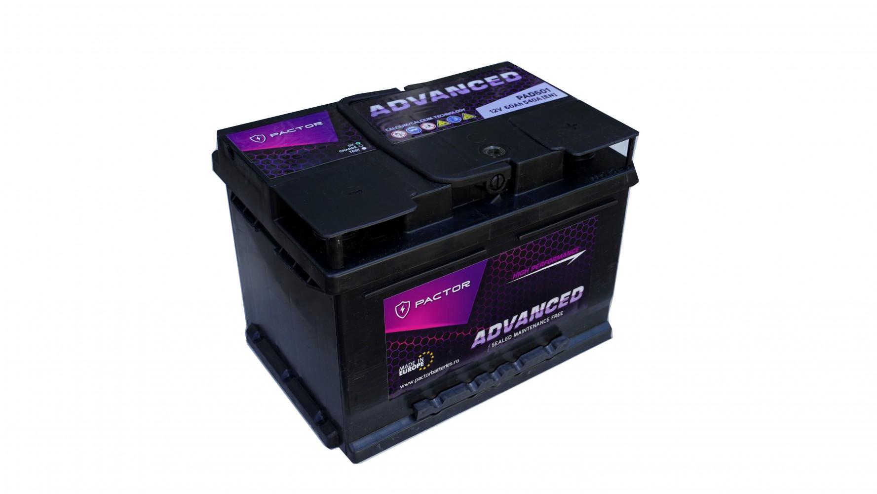Baterie auto PACTOR ADVANCED