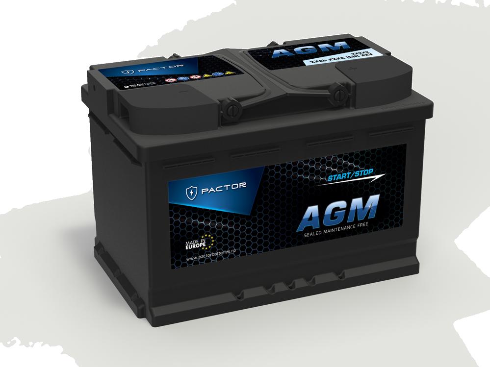 Baterie auto PACTOR AGM
