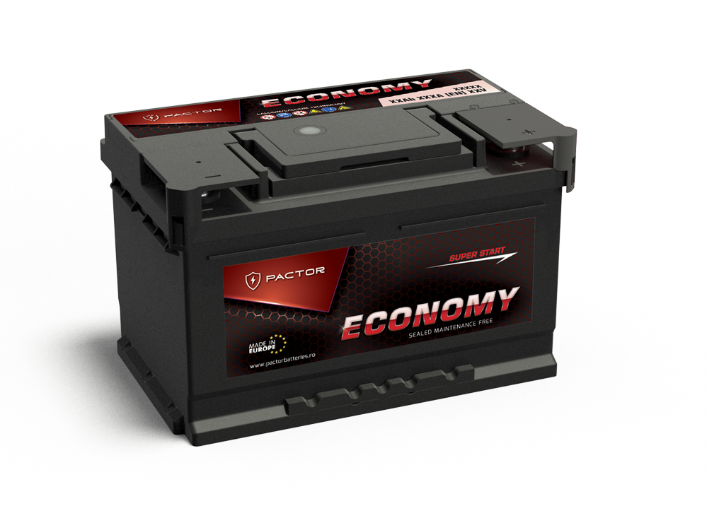 Baterie auto PACTOR ECONOMY